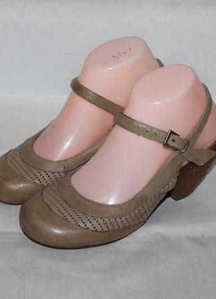 Комфортные кожаные туфли miz mooz 36 размер