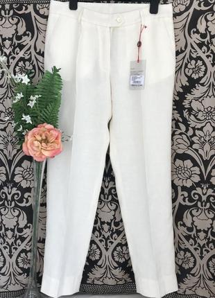 Vip♥️😎 дизайнерские шерстяные льняные брюки lorenz bach.