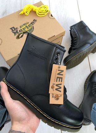 Шикарные женские ❄️ зимние ботинки топ качество dr. martens