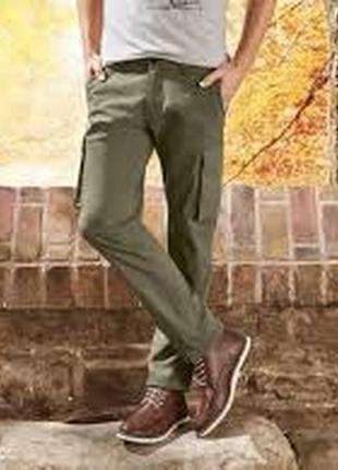 Мужские twill брюки slim fit livergy германия, размер 52