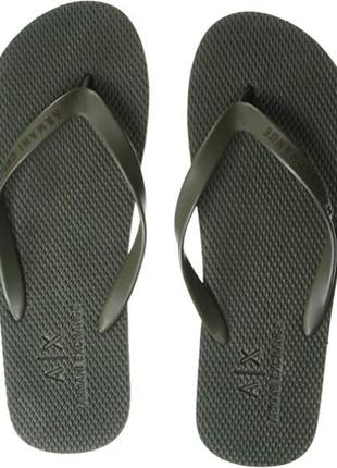 Сланцы-шлёпанцы armani exchange men's flip-flop