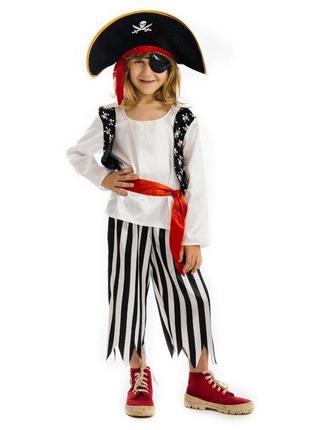 Костюм пирата р. 116-128 на 5-7 лет