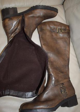 Кожаные зимние демисезонные сапоги 28 см janet d р.42 р.9