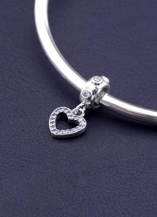 Шарм 'style' фианит серебро  0772570