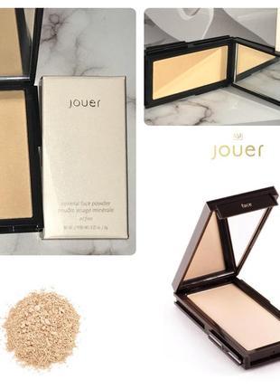 Jouer компактная минеральная пудра для лица