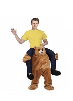 Карнавальный костюм «верхом на медведе». германия.