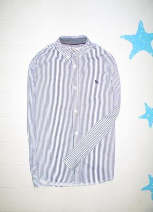 Рубашка h&m на 10-11л