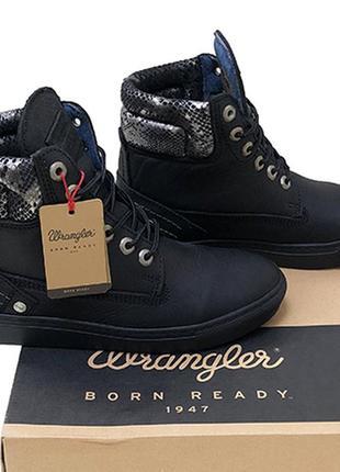 Кожаные ботинки wrangler оригинал 39