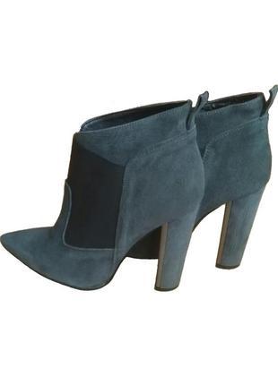 В наличии - итальянские ботинки, ботильоны *mai piu senza* 40 р. - натуральная замша!!