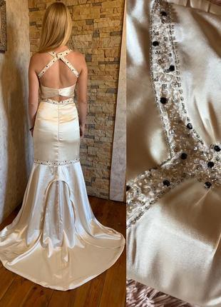 Шикарное платье италия обмен