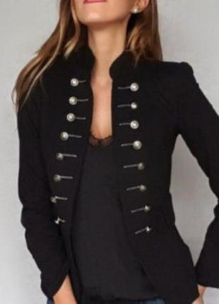 Бархатный пиджак 46-48 размер