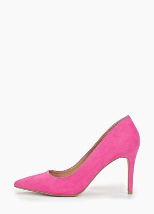 Розовые туфли лодочки zara