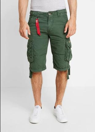 Шорты alpha industries jet short. размер 36