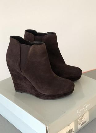 Замшевые ботинки оригинал jessica simpson