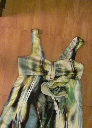 Шелк лето платье сарафан