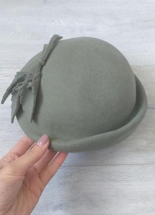 Шикарная шляпка шляпа с декором