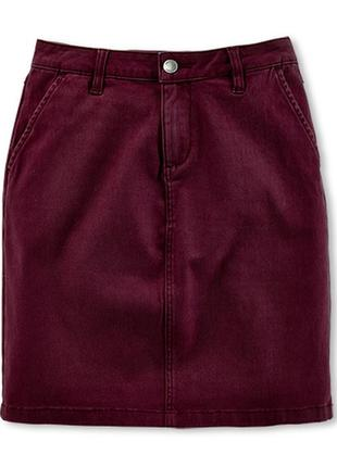 Хлопковая юбочка на каждый день tchibo, германия - р. 44-46 укр.