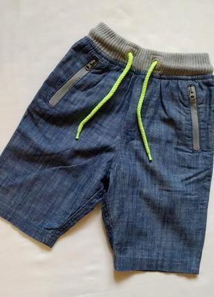 Хлопковые шотры под джинс next на рост 110-116 см