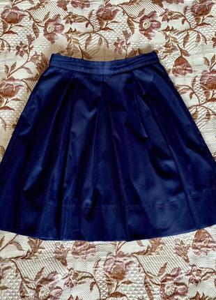 Спідничка, юбка темно-синя