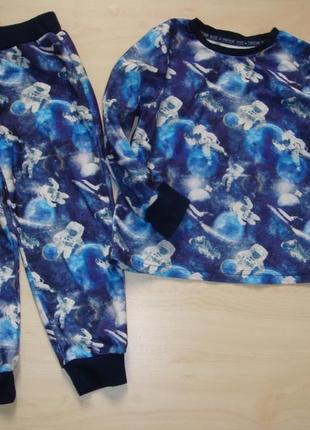 Теплая пижама 4-5лет