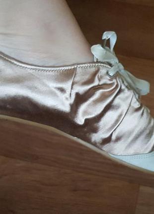 Балетки танцевальные, туфли для танцев, для спорта