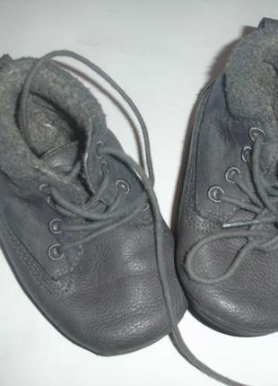 Фирменные next утепленные кроссовки пинетки мальчику на 19-20 размер