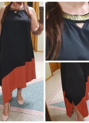 Длинное летнее платье (сарафан) graceful originals