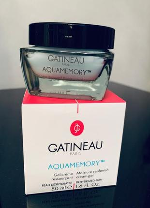Крем увлажняющий gatineau aquamemory moisture replenish cream 50 мл аквамемори готино