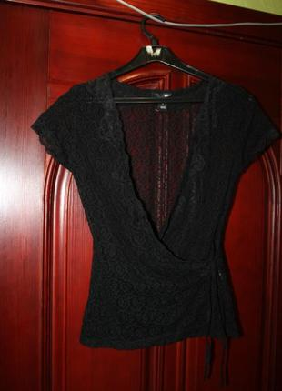 Кружевная блуза размер s от h&m