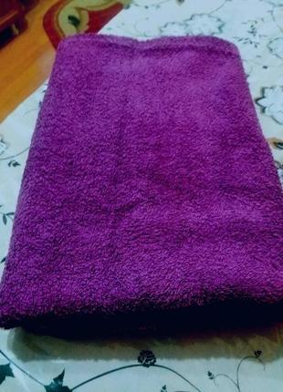 Махровое банное полотенце 135 на 70см