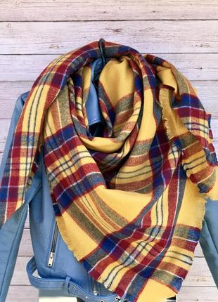 Шикарный кашемировый платок/шаль/шарф  !расцветка🔥