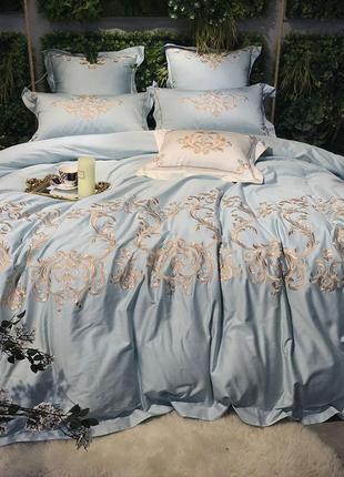 Комплект постельного белья хлопок с вышивкой