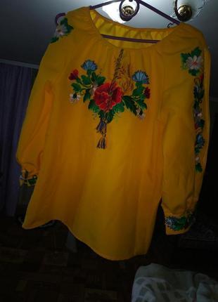 Сорочка вишита