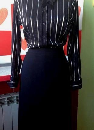 """Элегантный комплект """"marks & spencer"""" в классическом стиле: юбка-макси и блуза - м"""