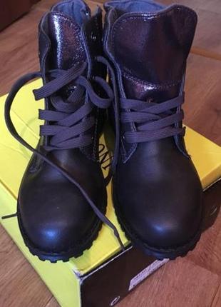 Новые ботинки ботильоны на шнурках 38 размер