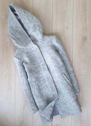 Шикарное полушерстяное пальто