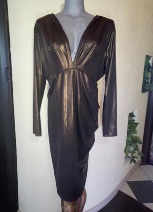 """Скидка!цена временно снижена!восхитительное платье ,просто """"бомба""""))) миди, батал"""