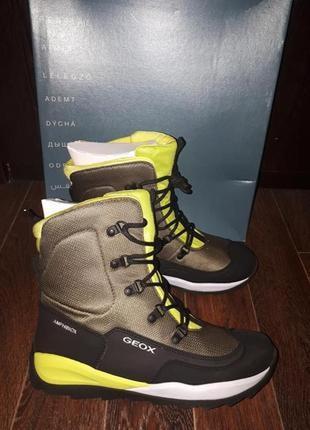 Зимние термо ботинки geox 40