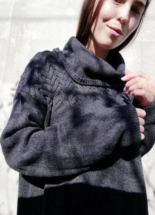Свитер кофта с горловиной s oliver джемпер пуловер