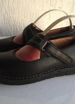 Кожаные туфли clarks 37р. въетнам