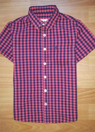 Яркая рубашка rebel на 7-8 лет