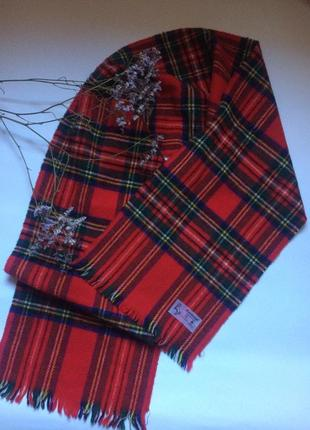 Шерстяной шарф 🧣 scotland style ❤️