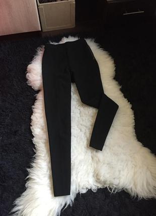 Классические брюки кант офисные костюмные штаны кольцо заужены