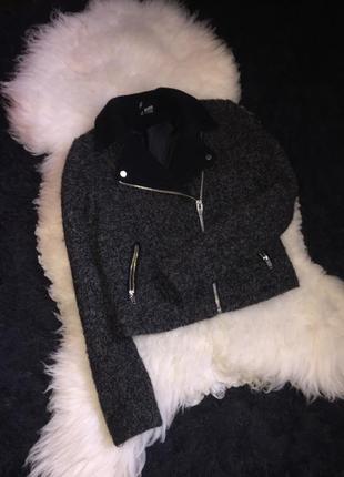 52% шерсть шерстяная косуха пальто куртка утеплена