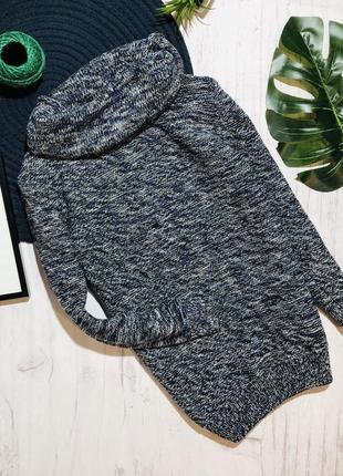 Базовый стильный свитер с хомутом next 6 лет (116)  большемерит