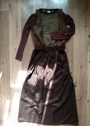 Платье зимние шерстяное сукня зимова шерсть
