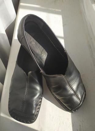 Удобные демисезонные туфли, ботинки rieker