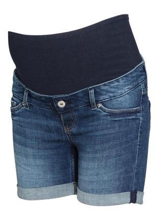 Джинсовые шорты для беременных h&m