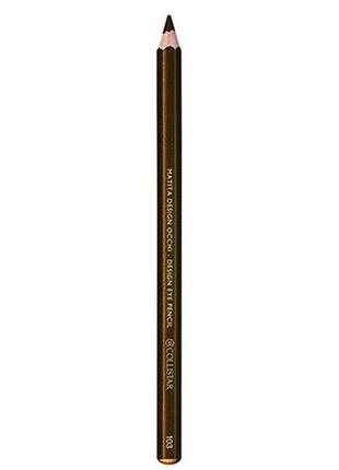 Карандаш для глаз collistar design eye pencil 103 brozno бронзовый тестер