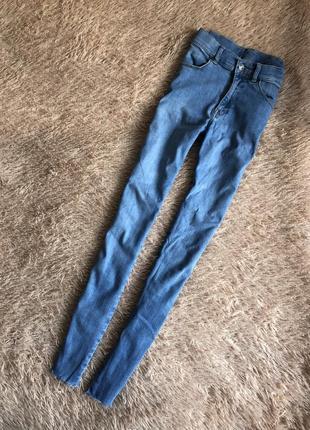 Крутые джинсы с высокой посадкой🔥
